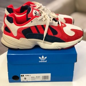 Adidas Yung-1 Chalk White/Core Black PREOWN B37615
